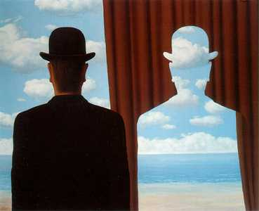 Magritte «La decalcomania»