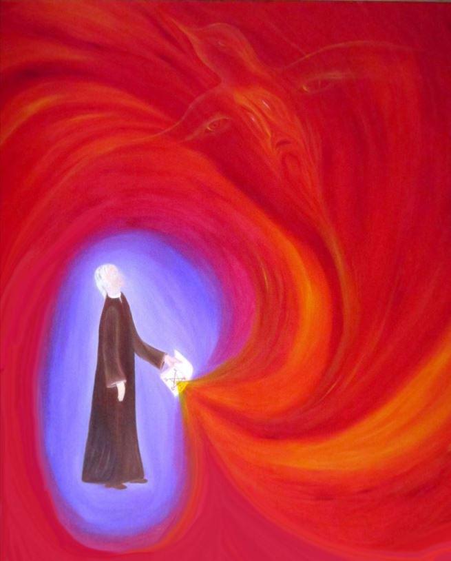 Faust evoca lo Spirito della Terra