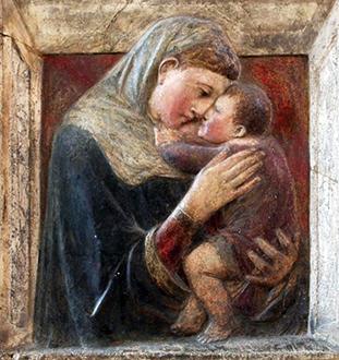Donatello «Vergine e Bambino»