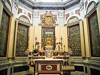 Cappella dei Santi martiri di Otranto canonizzati da papa Ratzinger, Benedetto XVI, l'11 febbraio 2013, durante il Concistoro in cui ha annunciato le sue dimissioni