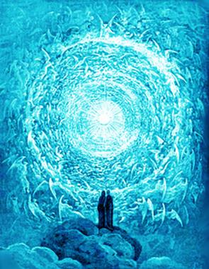 Gustave Doré «Dante e Beatrice davanti a l'Amor che move il Sole e le altre stelle»