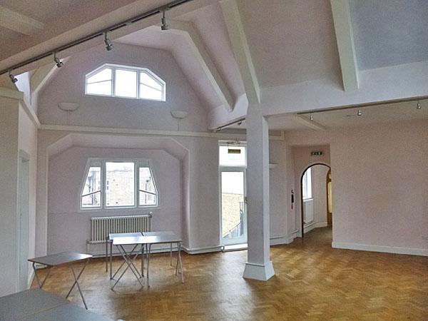Montague Wheeler – Sala di lettura della Rudolf Steiner House di Londra