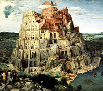 Pieter Bruegel il Vecchio «La Torre di Babele»