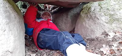 """Entrata nella """"Grotta della Fertilità"""" della Tuscia viterbese"""