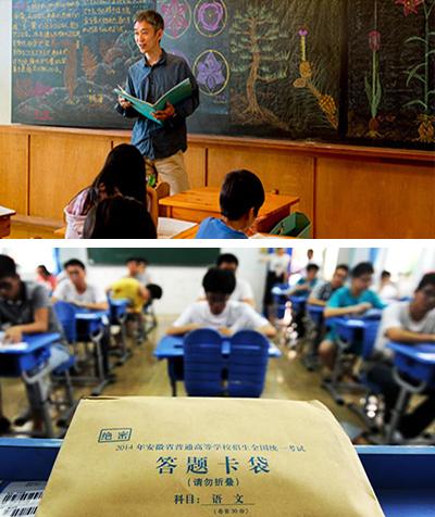 sopra: Scuola Waldorf – Kanagawa, Giappone sotto: Scuola Waldorf – Pechino, Cina