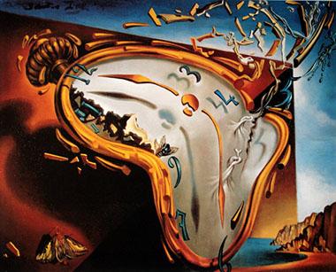 Dalì orologio molle