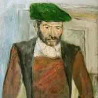L'uomo dal cappello verde