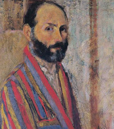 Pietro Antonio Manca Autoritratto