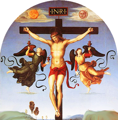 Raffaello «Crocifissione»
