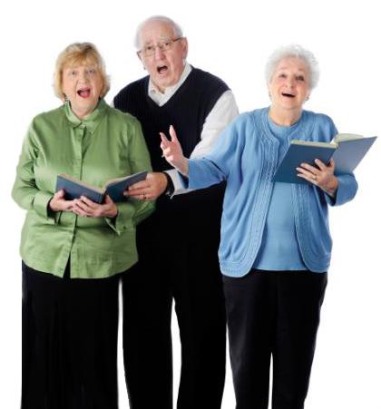 Anziani canterini