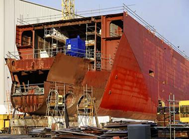 Arsenale per la costruzione di grandi navi