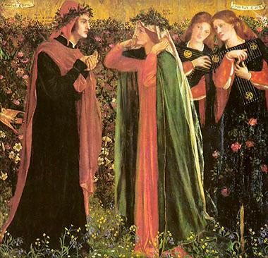 Dante Gabriele Rossetti «Beatrice, la Donna angelicata»