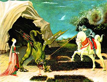 Paolo Uccello «San Giorgio e il Drago»