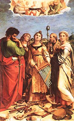 Raffaello «Santa Cecilia»