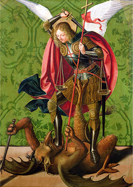 Josse Lieferinxe «San Michele e il Drago»