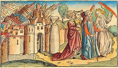 Hartman Schedel «Sodoma e Gomorra»