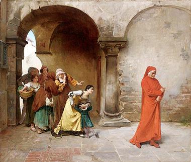 Antonio Maria Cotti «Dante esiliato e deriso»