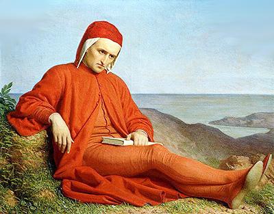 Domenico Petarlini «Dante in esilio»