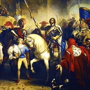 Giuseppe Bezzuoli «L'entrata a Firenze di Carlo di Valois»