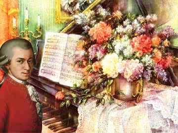 Mozart e fiori