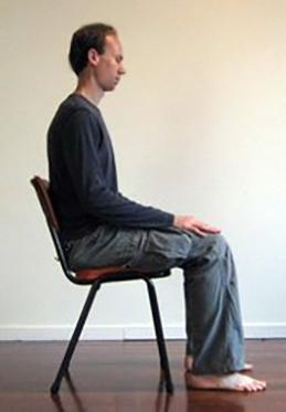 Posizione del meditante
