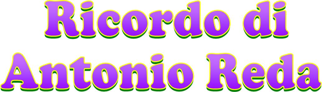 Ricordo di Antonio Reda