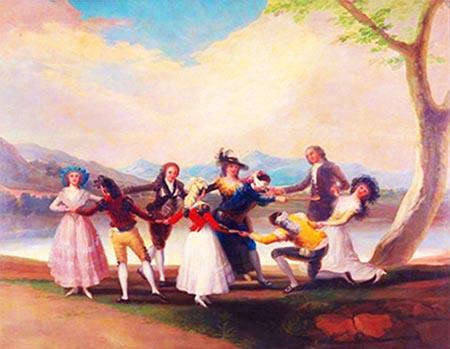 Francisco Goya «La mosca cieca»
