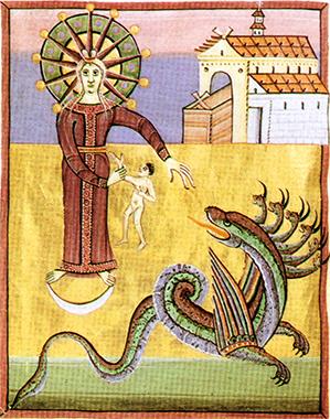 Il drago nell'Apocalisse di Bamberga