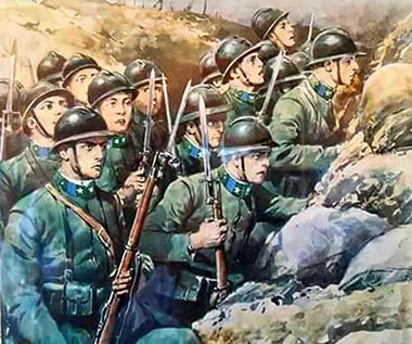 Ia Guerra Mondiale – La trincea
