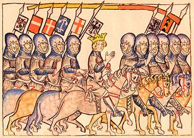 La discesa in Italia di Enrico VII di Lussemburgo