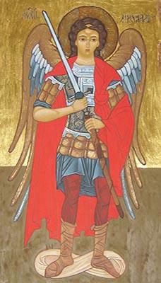 Mara Maria Maccari Icona dell'Arcangelo Michele