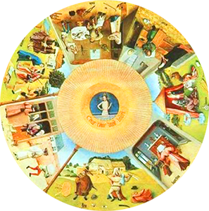 Hieronymus Bosch «I sette vizi capitali»
