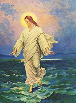 Il Cristo domina le acque