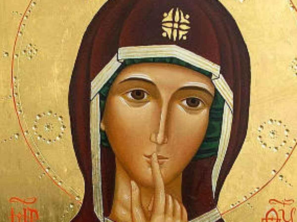 Icona Vergine del Silenzio