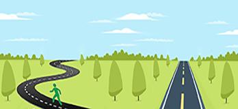 Strade lunga e strada breve