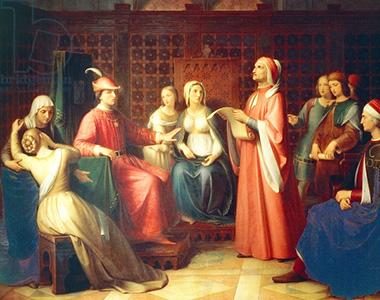 Andrea Pierini «Dante presso Guido da Polenta»