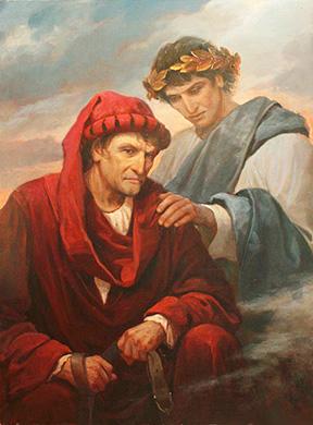 Andrey Shishkin «Dante e Virgilio»