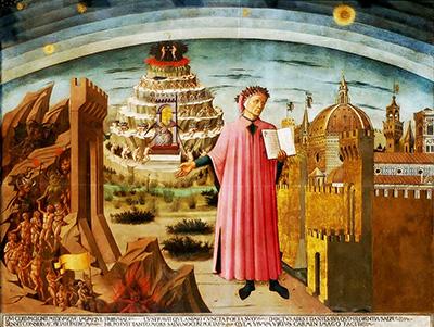 Domenico di Michelino «Dante e la Divina Commedia»
