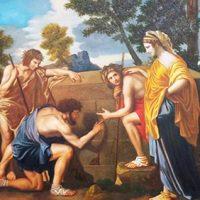 Nicolas Poussin «Et in Arcadia ego»