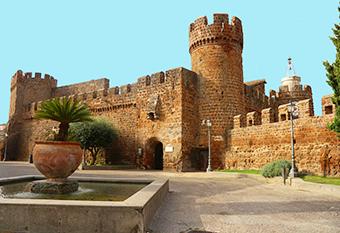 Il castello medievale di Cerveteri