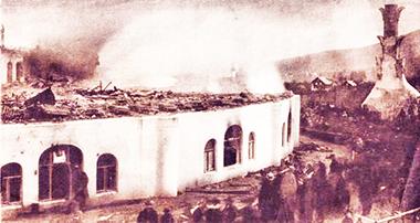 L'incendio del primo Goetheanum