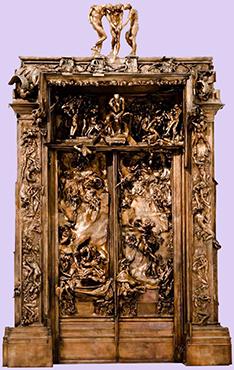 Auguste Rodin «Porta dell'Inferno»