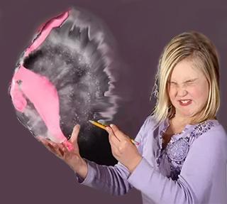 Scoppio del palloncino