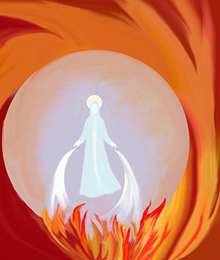 Madre e fuoco