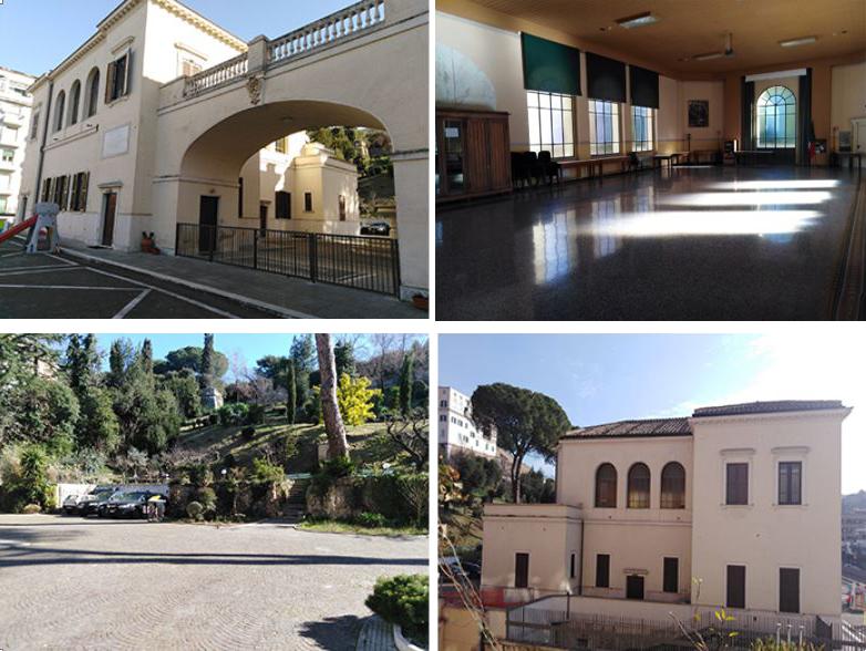 Nelle foto: l'Istituto in cui si terrà il Convegno