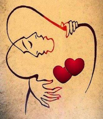 L'abbraccio dei cuori