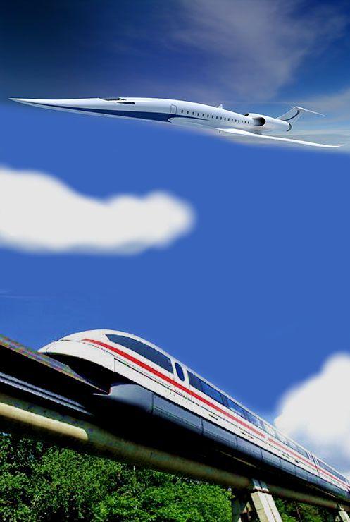 Aereo e treno