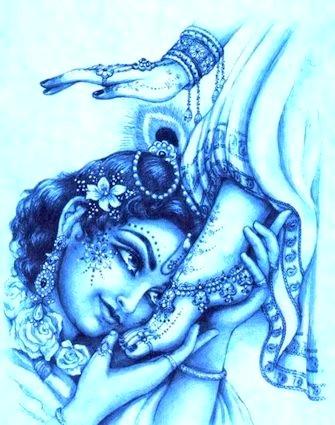 Ai piedi di Krishna