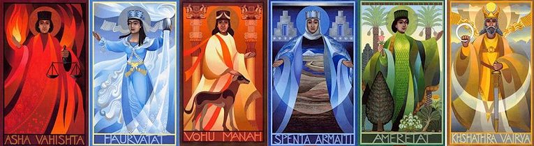 Hanna M. G. Shapero «Amesha Spenta»