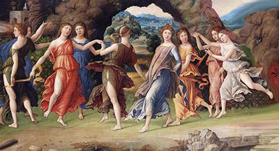 Andrea Mantegna Parnaso